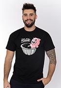 náhled - Ve formě čierne pánske tričko