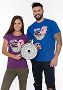 náhled - Ve formě fialové dámske tričko