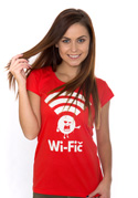 náhled - Wifič dámske tričko