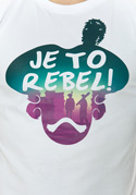 náhled - Je to rebel pánske tričko