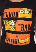 náhled - Hodný zlý a banán dámske tričko