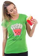 náhled - Patříme k sobě dámske tričko