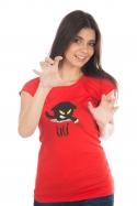 náhled - Čičina červené dámske tričko