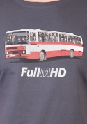 náhled - Full MHD šedé pánske tričko