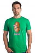 náhled - Žvejkal zelené pánske tričko
