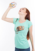 náhled - Music pills dámske tričko