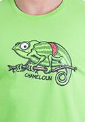 náhled - Chameloun zelené pánske tričko