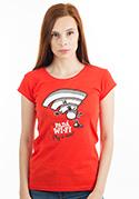 náhled - Padá wi-fi dámske tričko