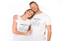 náhled - Miluju tulení biele dámske tričko