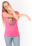 náhled - Momut fuchsiové dámske tričko