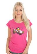 náhled - Ranní ptáče dámske tričko
