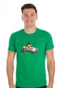 náhled - Ranní ptáče pánske tričko