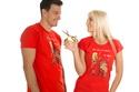 náhled - Na ježka dámske tričko