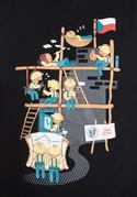 náhled - Těžká dřina pánske tričko