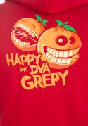 náhled - Happy grepy pánska mikina – chrbát