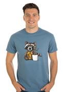 náhled - Strážcovia galaxie modré pánske tričko