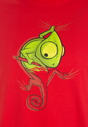 náhled - Zmizík červené pánske tričko