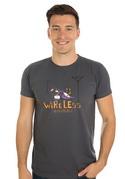 náhled - Bezdrát šedé pánske tričko