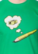 náhled - Ceruzka zelené pánske tričko