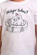 náhled - Miluju tulení detské tričko