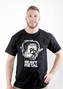náhled - Heavy Metal pánske tričko