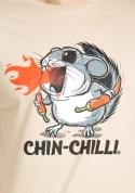 náhled - Chinchilli hnedé pánske tričko