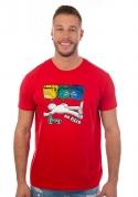 náhled - Tříděný odpad červené pánske tričko