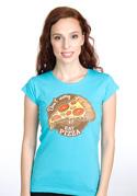 náhled - Pizza dámske tričko