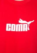 náhled - Coma červené pánske tričko