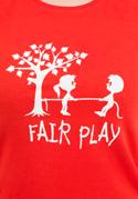 náhled - Fair play červené dámske tričko