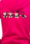 náhled - Opica dámska mikina – chrbát