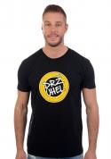náhled - Drž úhel čierne pánske tričko