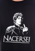 náhled - Nacersei čierne pánske tričko