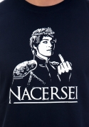 náhled - Nacersei modré pánske tričko