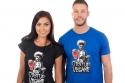 náhled - Odstup vegane čierne dámske tričko