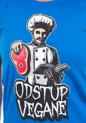 náhled - Odstup vegane modré dámske tričko