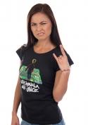náhled - Vychovala mě ulice dámske tričko