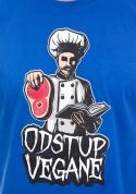 náhled - Odstup vegane modré pánske tričko