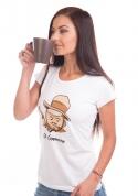 náhled - Al Cappuccino dámske tričko