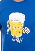 náhled - Netoč mě modré pánske tričko