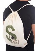 náhled - Pytel doláčů natural vak na chrbát