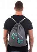 náhled - Brains šedý vak na chrbát