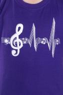 náhled - Žijem muzikou detské tričko