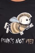 náhled - Punk's Not Med dámske tričko