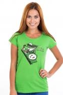 náhled - Popelnice dámske tričko