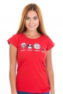 náhled - Trilobite dámske tričko