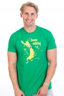 náhled - Cáklej zelené pánske tričko