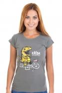náhled - Křída dámske tričko