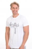 náhled - Vyrýsovanej pánske tričko
