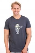 náhled - Potřebuju rozptýlit šedé pánske tričko